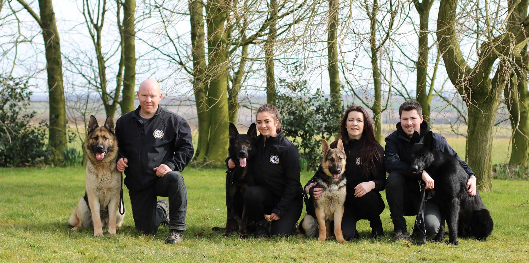 total k9 team dog trainers