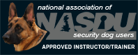 TOTAL K9 - Member of the National Association of Security Dog Users