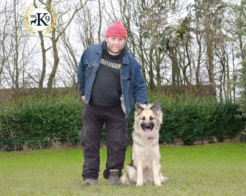 one to one dog training Steve and Mairi
